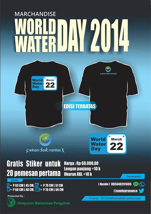 marchandise World Water Day 2014